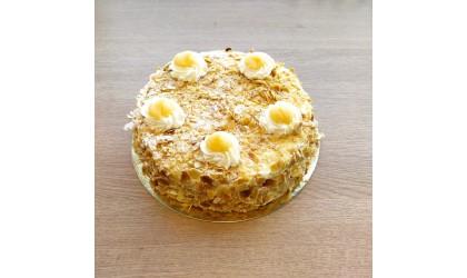 Tarta de Nata con Almendras